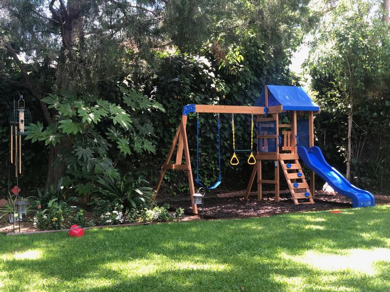 Backyard Discovery Aurora Wooden Cedar Swing Set · QuikCompare