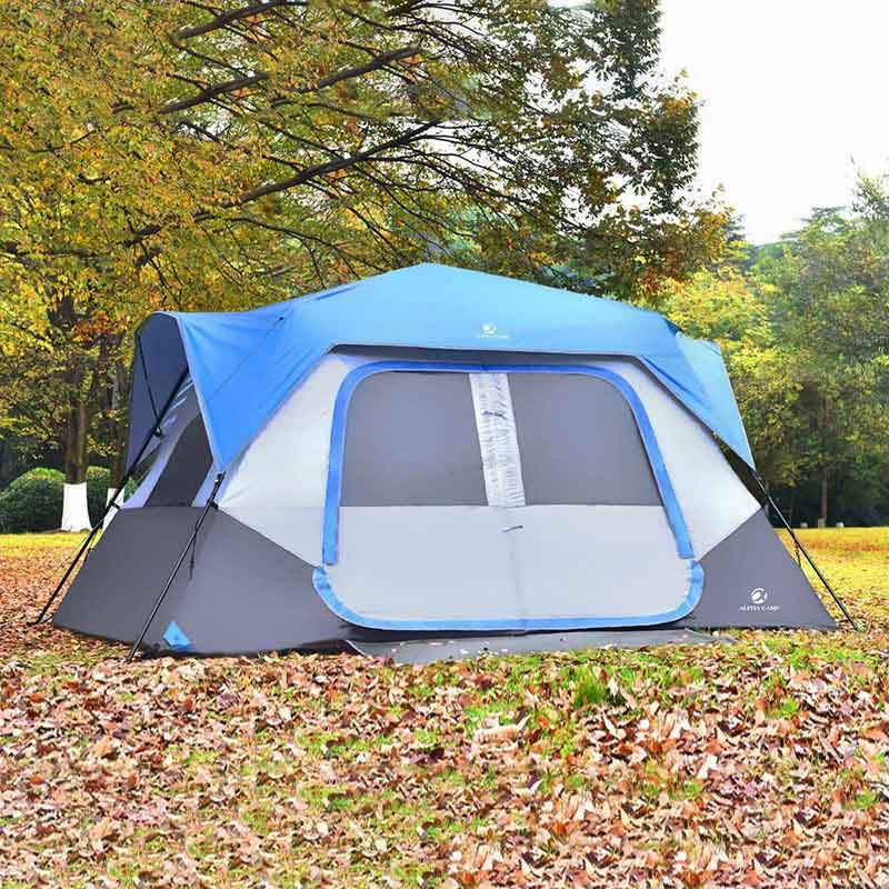 ALPHA CAMP 8 Person Instant Family Camping Tent · QuikCompare