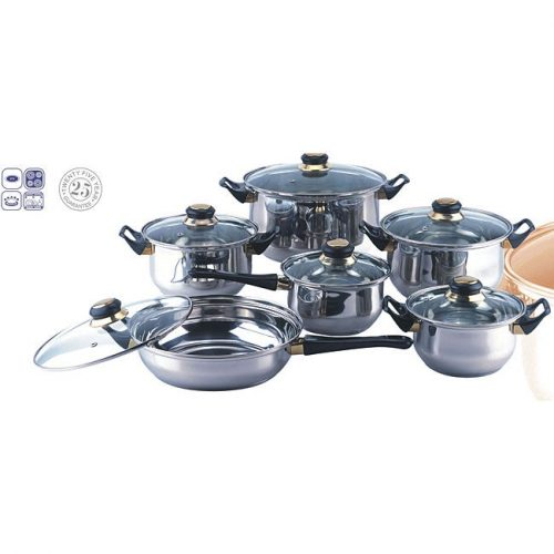 Blackstar 12-piece Stainless Steel Cookware Set (12-piece Stainless Steel Cookware Set)