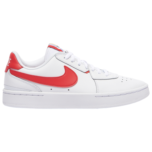 Nike Court Blanc - Women's Running Shoes - White / Track Red / Black, Size 6.0