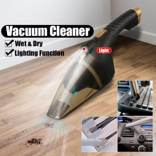Portable Car Vacuum Cleaner High Power Corded Handheld Vacuum 12V Portable Hand Vacuum with Strong Suction for Pet Hair, Home...
