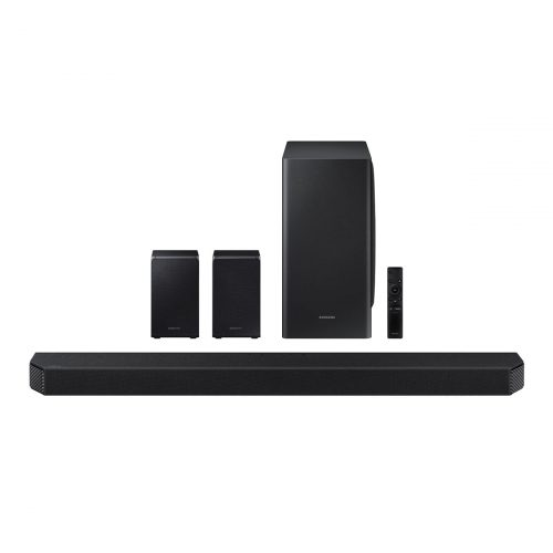 Samsung HW-Q950T 9.1.4ch Soundbar with Dolby Atmos and Built-in Voice Assistant