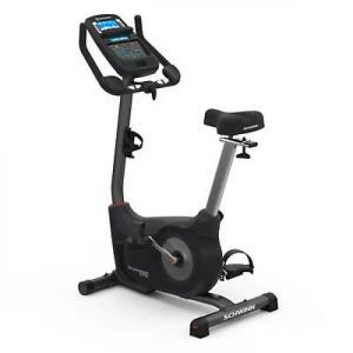 Schwinn Fitness 170 Home Workout Stationary Upright Exercise Bike with Display