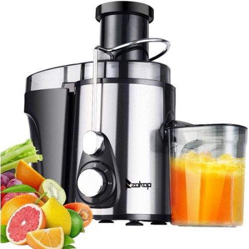 Vegetable Juicer Juice Extractor, SEGMART 600W Orange Juicer Cold Press Juicer Machine, 3 Speed Electric Juicer Wide Mouth, Fruit Juicer...
